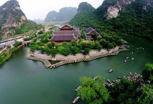 Gần 7.200 m2 đất nông nghiệp trong phạm vi Di sản thế giới Quần thể danh thắng Tràng An bị sử dụng sai mục đích, xây dựng trái phép. Ảnh: Internet