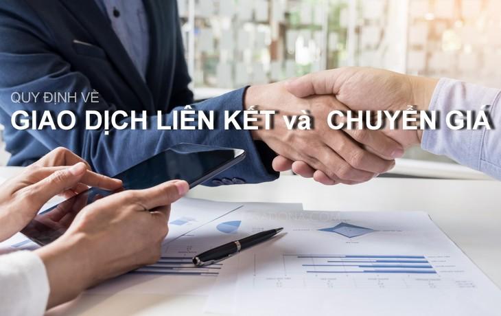 Sẽ quy định cụ thể các giao dịch liên kết phát sinh trong hoạt động sản xuất - kinh doanh. Ảnh: Internet