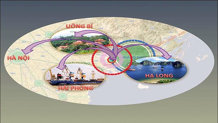 Quảng Yên nằm giữa 3 thành phố lớn,gồm: Hải Phòng - Uông Bí - Hạ Long. Ảnh: Internet