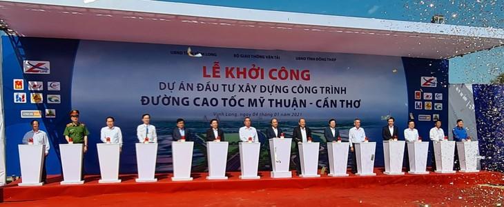 Cao tốc Mỹ thuận - Cần Thơ có ý nghĩa quan trọng, phát huy tính toàn diện của cả tuyến cao tốc Hồ Chí Minh - Trung Lương - Mỹ Thuận - Cần Thơ.