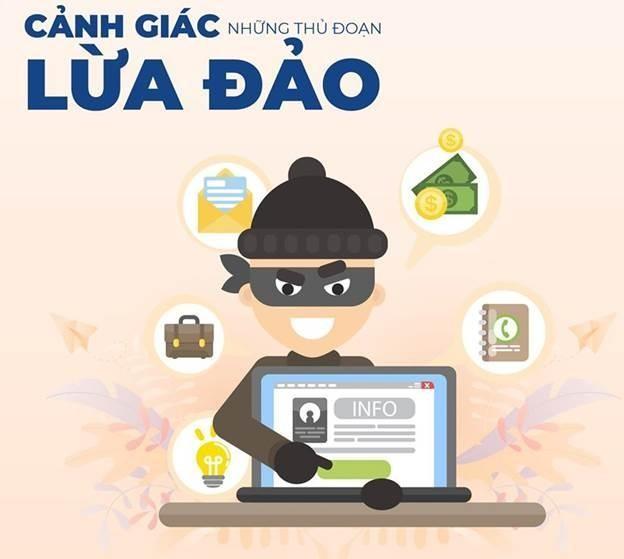 Khách hàng không chia sẻ các thông tin cá nhân, thông tin dịch vụ ngân hàng, thông tin giao dịch ngân hàng… lên mạng xã hội. Ảnh: Internet