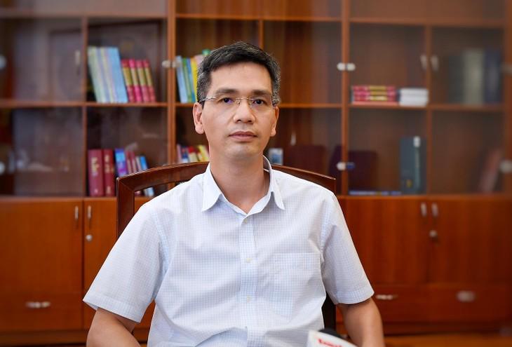 Ông Võ Thành Hưng, Vụ trưởng Vụ Ngân sách nhà nước thuộc Bộ Tài chính. Ảnh: Bộ Tài chính