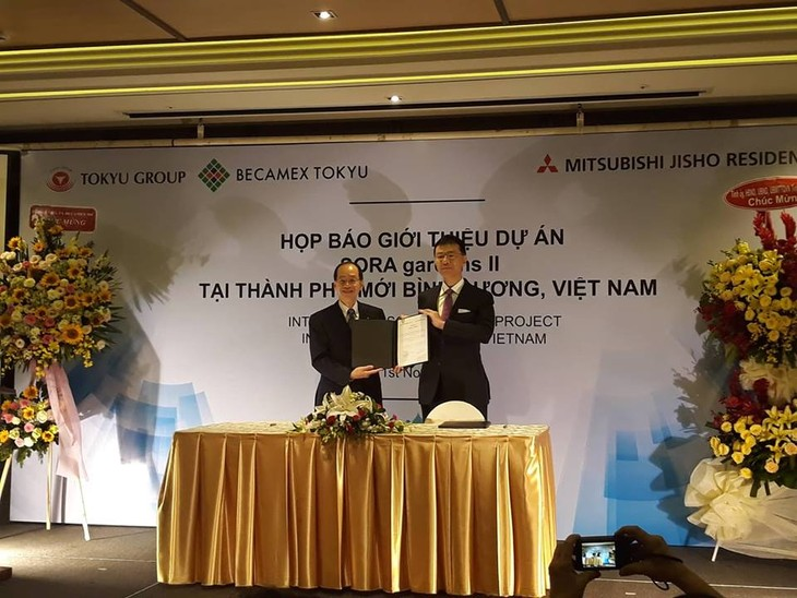 Becamex Tokyu và Mitsubishi Jisho Residence ký kết triển khai dự án SORA gardens II ở Bình Dương