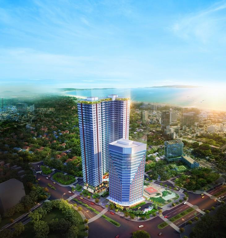 Phối cảnh tổng thể Dự án Grand Center Quy Nhon