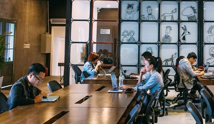 Các công ty nên phân bổ nhiều khu vực làm việc hợp tác hơn trong văn phòng
