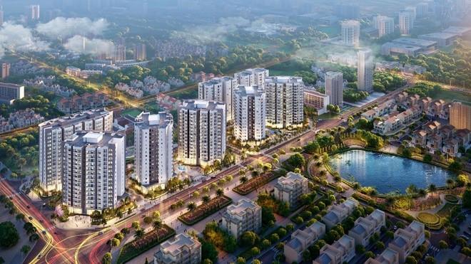 Phân khúc trung cấp dẫn đầu về số lượng căn hộ tiêu thụ, chiếm 83% thị phần, chủ yếu đến từ khu vực ngoài trung tâm như quận Gia Lâm và Long Biên