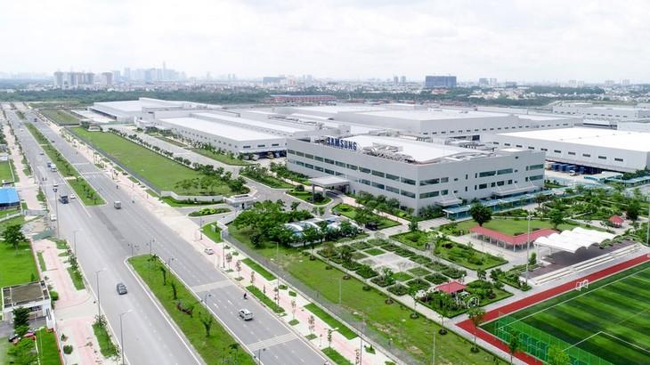 Với nền tảng hạ tầng phát triển khá tốt và giáp Trung Quốc, bất động sản công nghiệp miền Bắc thu hút phần lớn các nhà sản xuất lớn muốn đa dạng hóa danh mục sản xuất bên cạnh cơ sở tại Trung Quốc. Ảnh: Internet