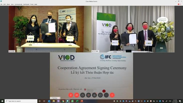 Sự hợp tác và hỗ trợ kỹ thuật tích cực của IFC và các bên liên quan giúp VIOD đẩy mạnh hoạt động và trở thành tổ chức đi đầu thúc đẩy quản trị công ty trên thị trường