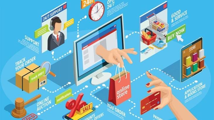 Sự phụ thuộc vào thương mại điện tử sẽ bùng nổ và sẽ thay đổi hành vi của người tiêu dùng trực tuyến. Ảnh minh họa: Internet