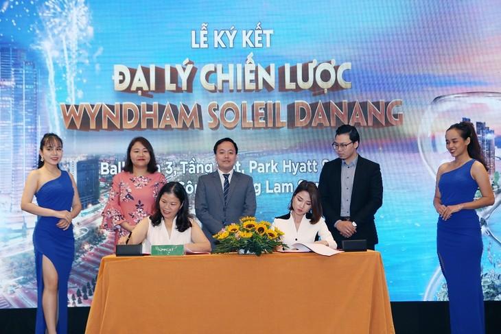 Các đại lý phân phối Dự án tại miền Bắc, miền Trung và miền Nam sẽ cùng phân phối Wyndham Soleil Danang