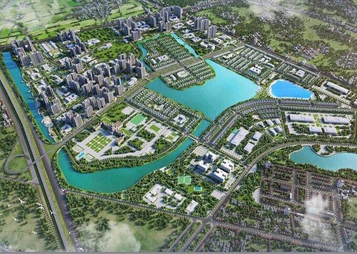 Giao dịch sôi động nhất được ghi nhận tại dự án Vinhomes Ocean Park,chiếm 48,3% tổng lượng bán trong Quý 2/2020. Ảnh: Internet