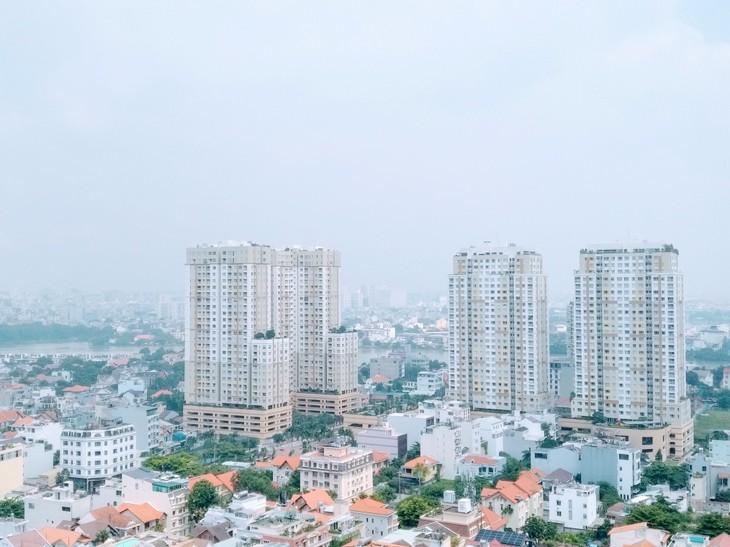 Savills Việt Nam dự báo căn hộ hạng C tiếp tục dẫn dắt thị trường, chiếm 55% nguồn cung tương lai và 60% lượng bàn giao đến năm 2023. Ảnh: Ngô Ngãi