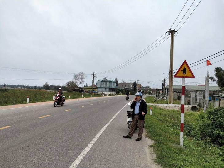 Giá đất ở Cửa Việt tăng mạnh từ đầu năm 2021. Ảnh: Ngô Bảo Tín