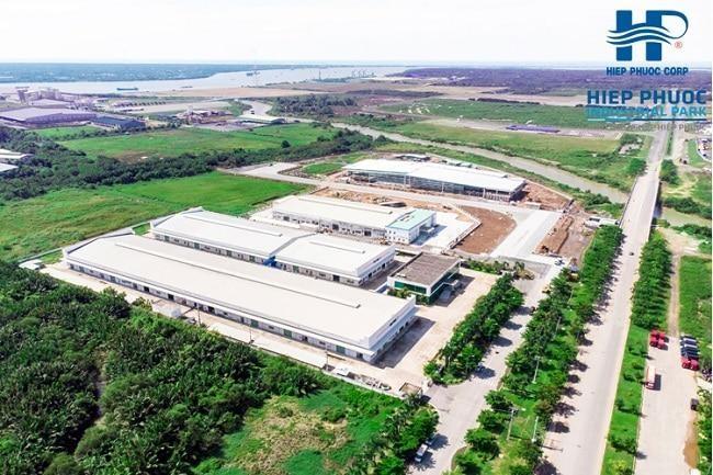 Khu công nghiệp Hiệp Phước là một trong những khu công nghiệp có dính đến sai phạm, vừa được Thanh tra Chính phủ nêu tên. Ảnh: Internet