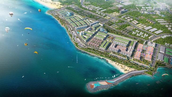 Phối cảnh Dự án Phức hợp đô thị thương mại - dịch vụ và du lịch biển Lagi New City
