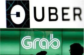 """Hội đồng xử lý vụ việc cạnh tranh cho rằng """"thương vụ"""" Grab mua lại Uber không vi phạm Luật Cạnh tranh. (Ảnh Internet)"""