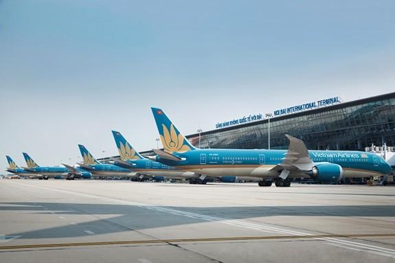 Tổng công ty Hàng không Việt Nam chịu thiệt hại nặng nề do dịch Covid-19 (ảnh: Internet)