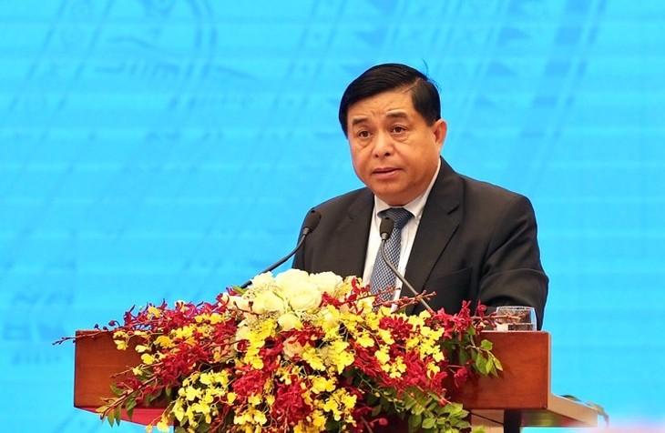 Bộ trưởng Bộ Kế hoạch và Đầu tư Nguyễn Chí Dũng nhấn mạnh yêu cầu hành động để hỗ trợ DN không bỏ lỡ thời cơ phục hồi và phát triển (ảnh:TT)