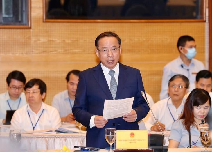 Lãnh đạo Hiệp hội DNNVV Việt Nam phát biểu tại Hội nghị
