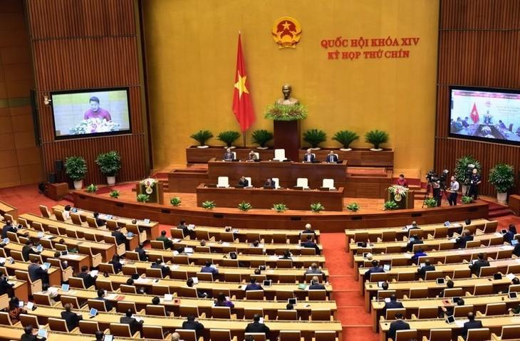 Hôm nay (25/5), Quốc hội thảo luận trực tuyến dự thảo Nghị quyết của Quốc hội về miễn thuế sử dụng đất nông nghiệp. Ảnh: Lê Tiên