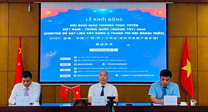 Hội nghị giao thương trực tuyến vật liệu xây dựng và đồ trang trí nội ngoại thất Việt Nam – Trung Quốc diễn ra ngày 2/6/2020