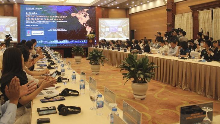 Kết nối doanh nghiệp Việt với các đối tác châu Mỹ