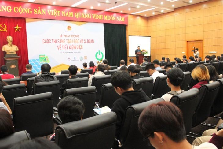 """Lễ phát động: """"Cuộc thi sáng tạo logo và slogan về tiết kiệm điện"""" ngày 28/10, tại Hà Nội (ảnh: MK)"""