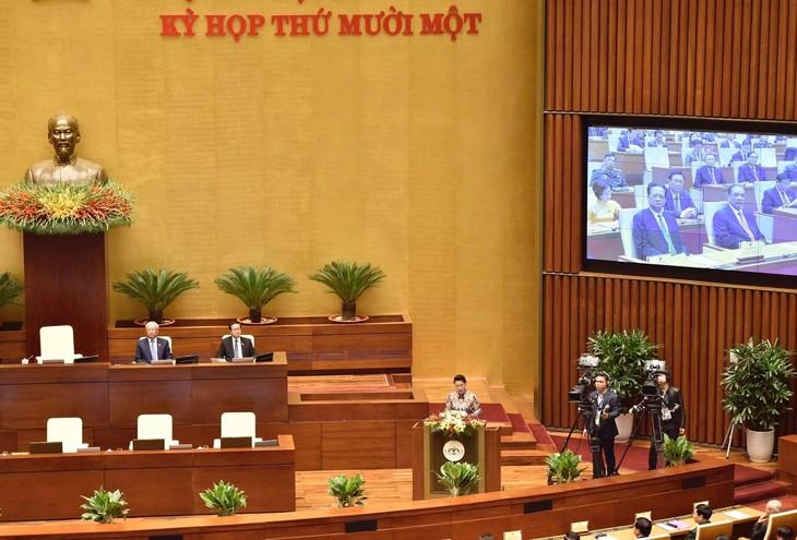 Chủ tịch Quốc hội Nguyễn Thị Kim Ngân khai mạc Kỳ họp thứ 11 Quốc hội khóa XIV (ảnh: QB)