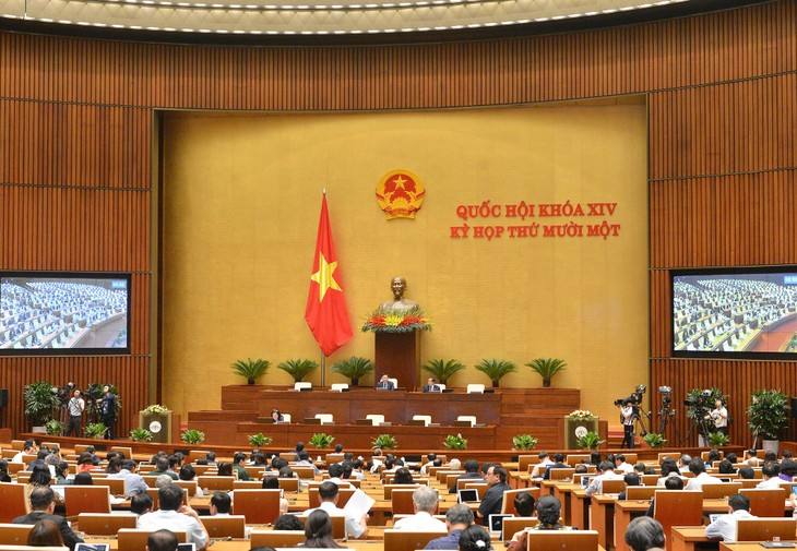 Hôm nay, Quốc hội sẽ tiếp tục làm việc về công tác nhân sự (ảnh: QH)