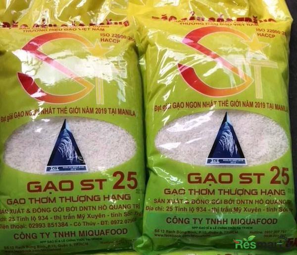 Giống lúa tên ST24, ST25 là do ông Hồ Quang Cua và nhóm nhà khoa học Việt Nam nghiên cứu, sản xuất thành công, đã được cấp bằng bảo hộ tại Việt Nam