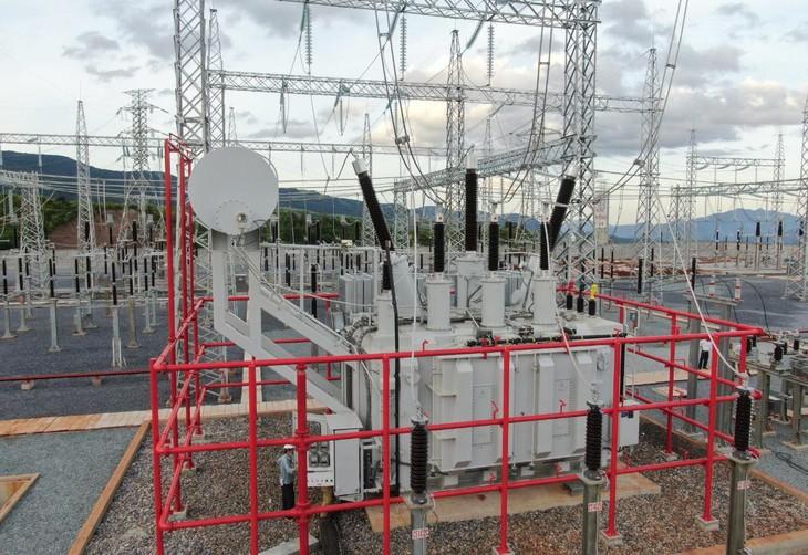 Trạm biến áp 220kV Lao Bảo (ảnh: CPMB)