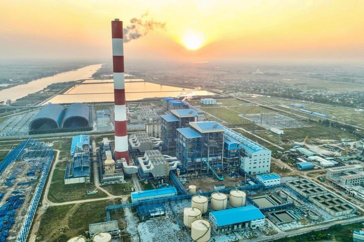 Toàn cảnh Nhà máy Nhiệt điện Thái Bình 2 (ảnh: Internet)