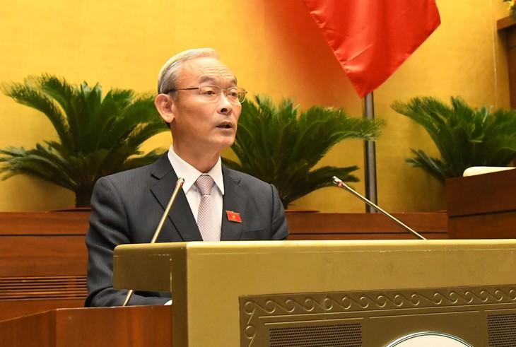 Chủ nhiệm Ủy ban Tài chính - Ngân sách Nguyễn Phú Cường (ảnh: QH)