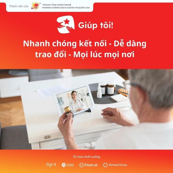 """Nền tảng kết nối cộng đồng""""Giúp tôi!"""" vừa chính thức ra mắt trên hai kho ứng dụng App Store (iOS) và Google Play (Android)"""