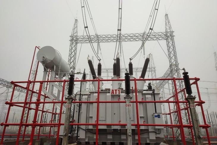 Hoàn thành toàn bộ công trình Trạm biến áp 220kV Lao Bảo