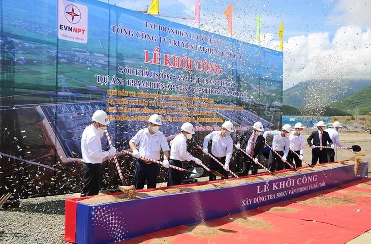 Khởi công Dự án Trạm biến áp 500kV Vân Phong và đấu nối