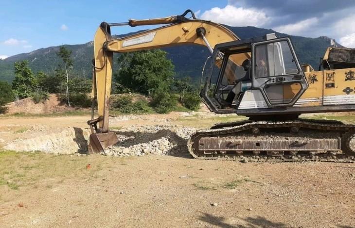 Dự án Dường dây 500kV Vân Phong - Vĩnh Tân đang gặp khó khăn do thiếu mặt bằng thực hiện (ảnh: EVN)