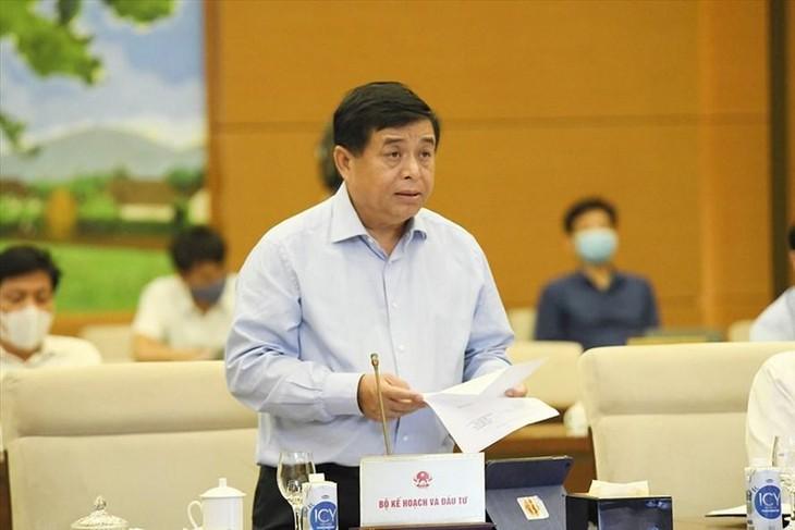 Bộ trưởng Bộ Kế hoạch và Đầu tư Nguyễn Chí Dũng. Ảnh VGP