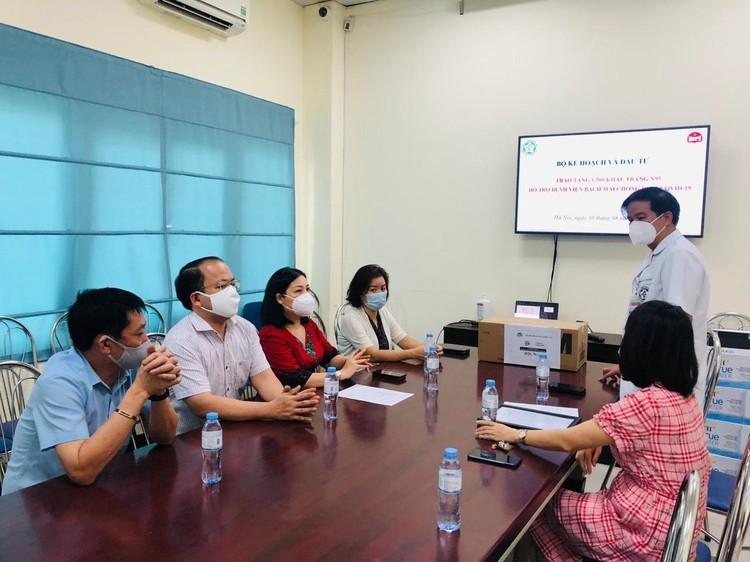 Bộ Kế hoạch và Đầu tư chung tay hỗ trợ các nguồn lực cho Việt Nam phòng chống dịch Covid-19 ảnh 4