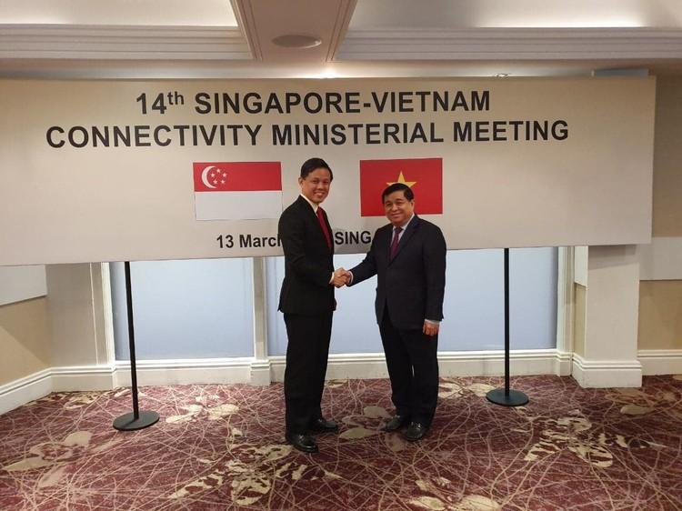 Hội nghị cấp Bộ trưởng lần thứ 14 về Kết nối kinh tế Việt Nam - Singapore ảnh 1