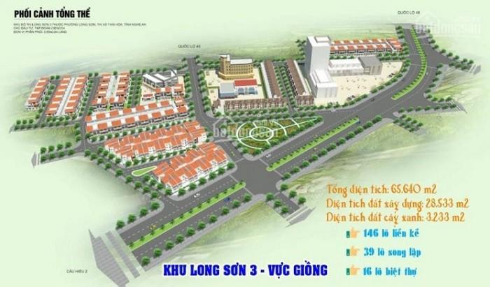 Nghệ An giao đất cho Tập đoàn Cienco4 thực hiện Khu đô thị Long Sơn ảnh 1