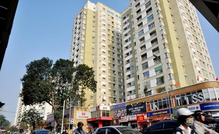 Những tòa nhà mới khang trang trên đất chung cư cũ ở Thủ đô ảnh 3