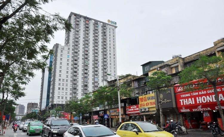 Những tòa nhà mới khang trang trên đất chung cư cũ ở Thủ đô ảnh 4