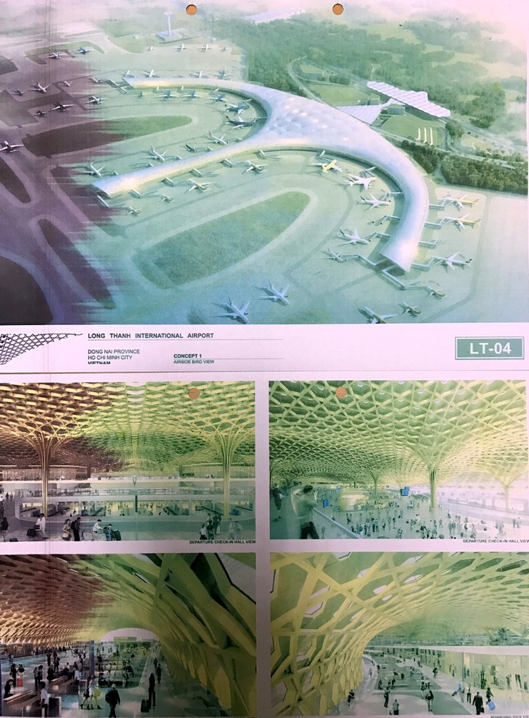 Giao chuyên gia đánh giá thiết kế sân bay Long Thành ảnh 2