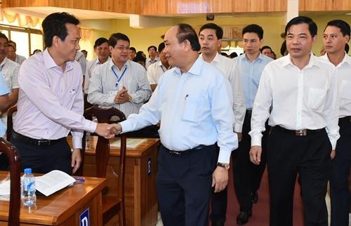 Thủ tướng chủ trì Hội nghị lúa gạo vùng Đồng bằng sông Cửu Long ảnh 1
