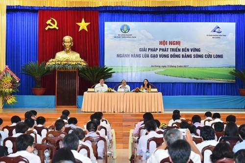 Thủ tướng chủ trì Hội nghị lúa gạo vùng Đồng bằng sông Cửu Long ảnh 2