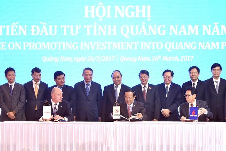 """Thủ tướng kêu gọi """"sếu lớn"""" đến Quảng Nam ảnh 1"""
