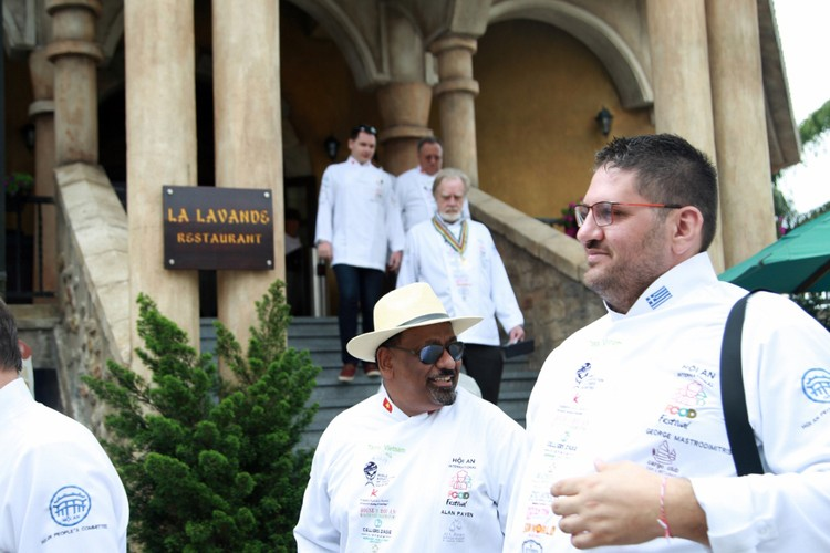 """12 đầu bếp quốc tế """"trổ tài"""" ở Bà Nà Hills ảnh 2"""