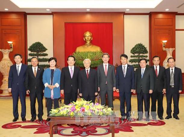 Đưa quan hệ Đối tác chiến lược Việt Nam-Hàn Quốc tiếp tục phát triển mạnh mẽ, hiệu quả ảnh 1