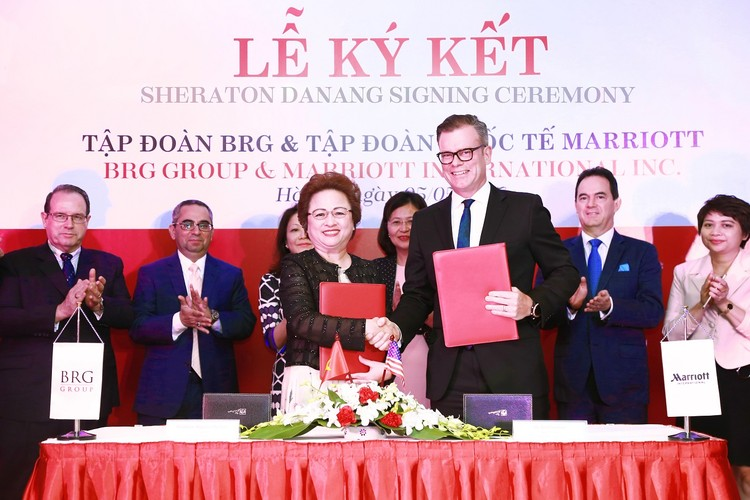 BRG và Tập đoàn Marriott International hợp tác dự án khách sạn Sheraton Đà Nẵng ảnh 1